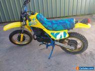 Suzuki ds 80 motorbike