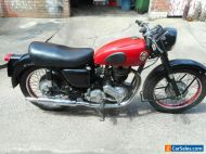 Ariel VH 1956 Red Hunter 500 with dating certificate