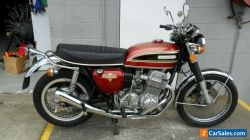 HONDA CB750 K4, nice condition, runs well