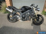 TRIUMPH 675 STREET TRIPLE 2009 GREAT ROAD TRACK OR STUNT BIKE