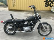 YAMAHA XVS250 VIRAGO 250 05/1998 MODEL CLEAR TITLE PROJECT MAKE AN OFFER
