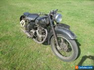 1949 Royal Enfield Model G Classic Motorcycle Barn Find