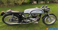 Triton 1956 Norton Wideline  Featherbed Triumph T110 John Tickle