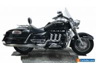 2011 Triumph Rocket lll 3 Touring, 20542 miles, Screen, panniers, solo seat