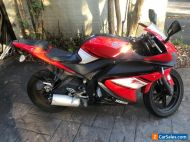 2010 Yamaha yzf125 motorbike. Lams approved. 19,000 Kms unregistered