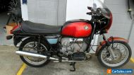 BMW R100S rare and running project Bargain, call me to discuss
