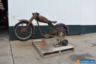 Classic DKW motorcycle 1954 RT250