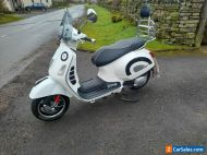 Piaggio vespa gts 125 automatic scooter.ready to ride.cheap uk delivery