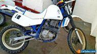 1987 SUZUKI DR600  DR 600 DAKAR ( NOT DR 650 ) DRY STORED 10YRS SPARES REPAIR
