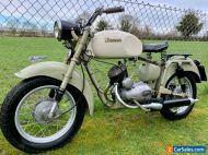 Rare 1959 62 year old Italian split single classic motorcycle Iso Moto 125cc