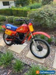 Honda XR80 1984