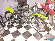 Jim Cook 125cc Kawasaki slider,