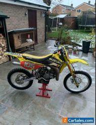 Suzuki RM85 big wheel youth motocross