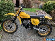 Suzuki RM125c 1978 twinshock motocross