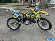 Suzuki RM 250 motocross bike 1998. 2 stroke. Jamie Dobb. Kx cr