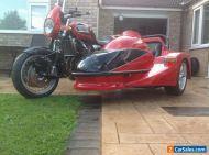 Triumph Thunderbird sport sidecar combination