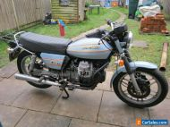 Moto Guzzi Mk2 V50 largely original and unrestored stored since 1994 but running