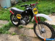 Honda XL 125 vintage field bike