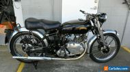 VINCENT Series C Comet, matching numbers, great riding bike