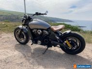 Indian scout custom 2015