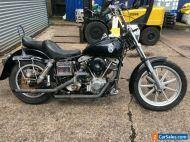 Ref:762 1978 Harley Davidson 1200cc FXS Shovelhead