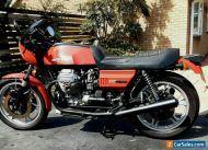 Moto Guzzi Le Mans 850, red