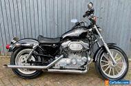 Harley-Davidson Sportster XLH 883 Black Motorcycle Motorbike 2137 Miles Rare
