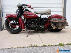 1947 Harley-Davidson Knucklehead model f