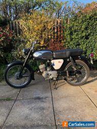 Suzuki K10P, 1969 Classic 2 Stroke, Classic Motorcycle.