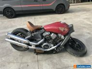 INDIAN SCOUT 06/2015 MODEL PARTS STAT PROJECT MAKE AN OFFER
