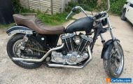 Harley Davidson Ironhead sportster 1979 1000cc for restoration. Matching numbers