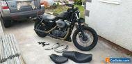 Harley Davidson Nightster 1200 Sportster XL1200 N 2007 EFI 12,389mls + 2 up kit