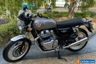 Royal Enfield Interceptor 650 2020 70 Plate 800 Miles in Silver With Extras.