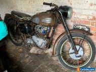 1957 Triumph T110, amazing original unrestored condition. NO RESERVE!