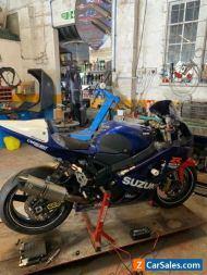 Suzuki gsxr 600 k4 track bike