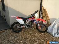 2004 Honda crf250x road registered enduro bike