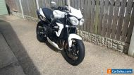 Triumph Street Triple 675 R Crystal White Motorcycle (SOLD)