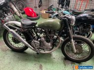 Royal Enfield 350 Trials 1990 project