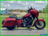 2021 Indian Chieftain Dark Horse Ruby Smoke