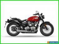 2022 Triumph Bonneville Red Hopper
