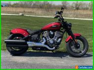 2022 Indian Chief Bobber ABS Ruby Metallic