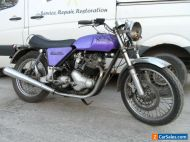 Norton Commando 750 1969 S type chassis 1971 engine , registered and running