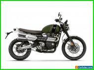 2022 Triumph Scrambler 1200 XC Matt Khaki Green Matt Jet Black