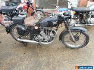 Matchless 1948 Rigid 500 wonderful patina
