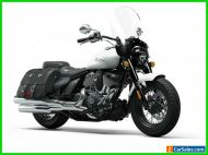 2022 Indian Super Chief ABS Pearl White