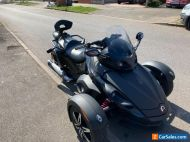 Can Am Spyder RS Stealth black