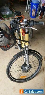 Electric 4 wheels bike