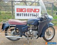 1962 ROYAL ENFIELD SUPER METEOR FITTED WITH RARE AIRFLOW FAIRING