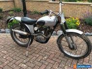 1961 Triumph tiger cub trials pre 65 barn find oily rag running condition