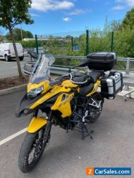 TRK Benelli 502X Adventure,400 miles only, Full Givi Luggage.